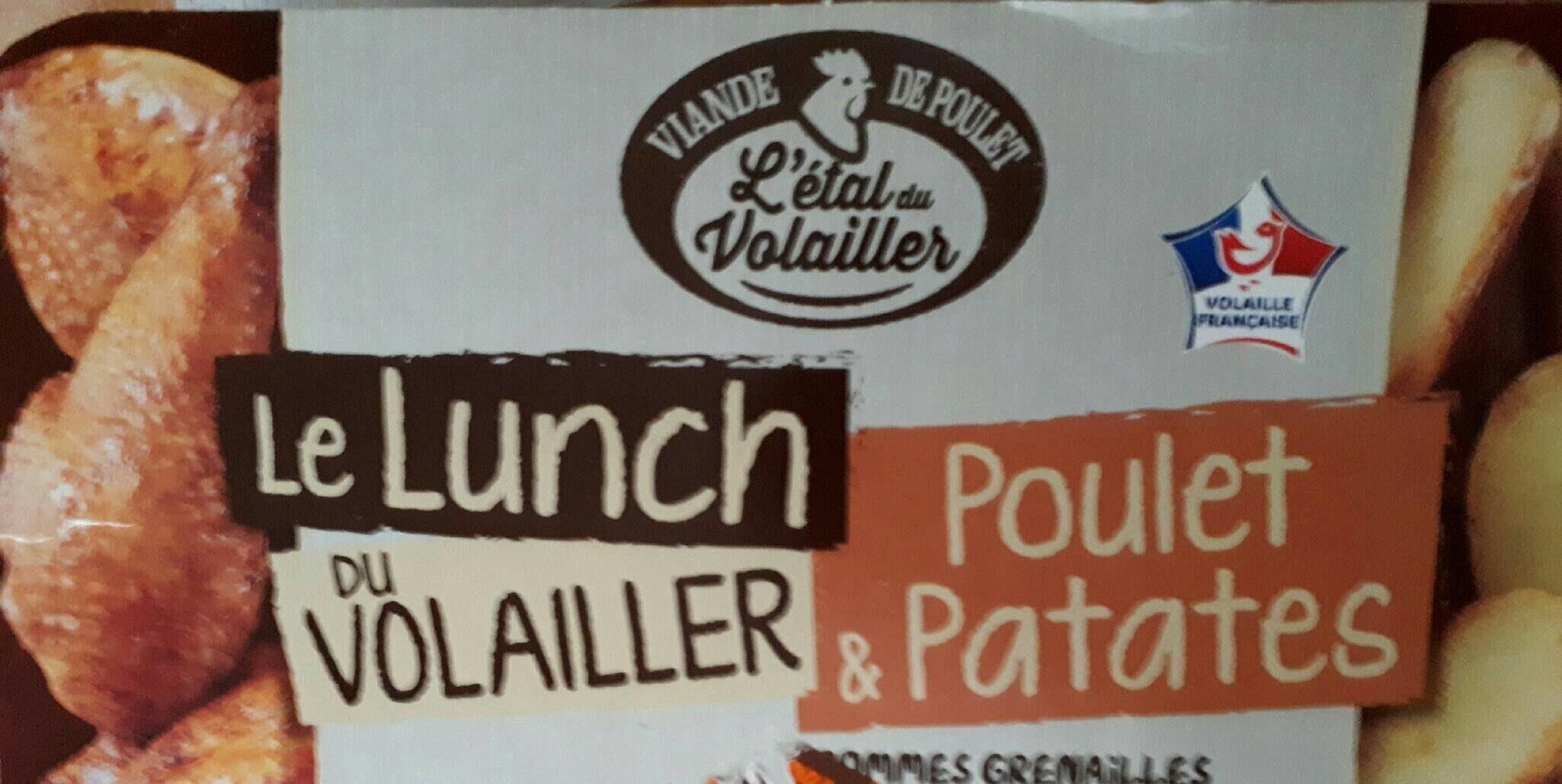 Le lunch du volailler. Poulet et patates - Product - fr