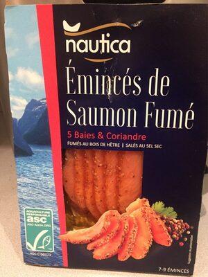 Émincés de saumon fumé 5 Baies - Produit - fr