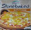 Stone baked Quattro Fromaggi Pizza - Product