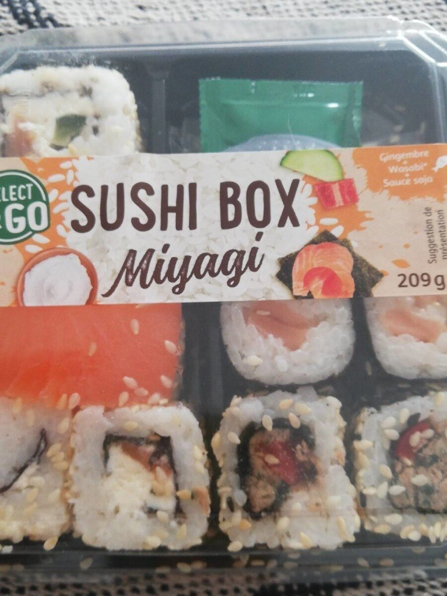 Sushi box - Produit - fr