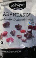 Arándanos cubiertos de chocolate negro - Prodotto - es