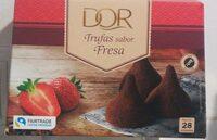Trufas sabor fresa - Produit