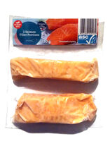 2 Salmon Fillet Portions - Product - fi