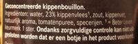kippen bouillon - Ingrediënten - nl