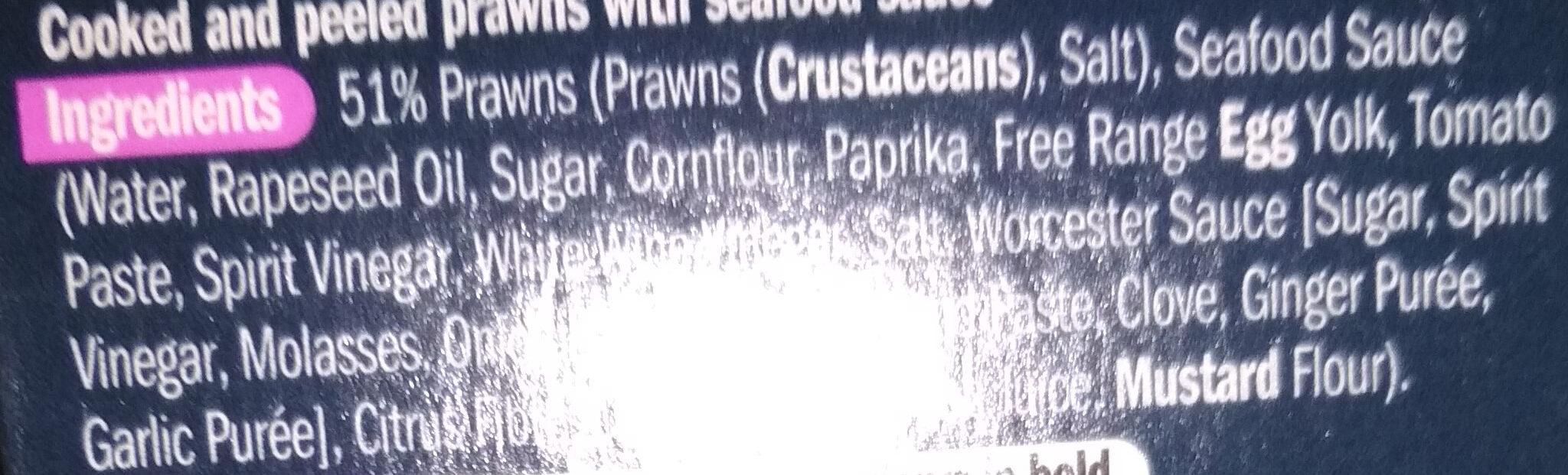Prawn cocktail - Ingredients - en