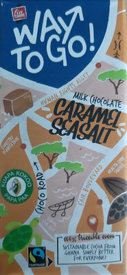 way to go - milk chocolatr caramel seasalt - Product
