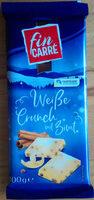 Weiße Crunch mit Zimt - Product