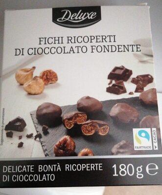 Fichi ricoperti di cioccolato fondente - Prodotto - it