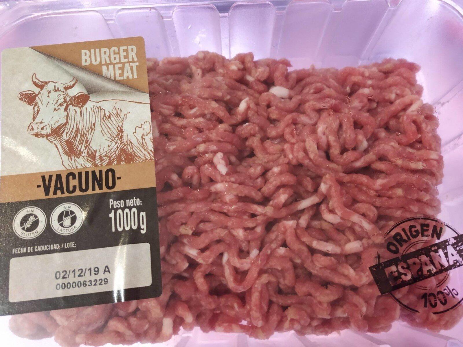 Carne picada vacuno - Producte - es