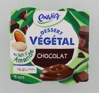 Dessert végétal au lait d'amande - chocolat - Produit - fr
