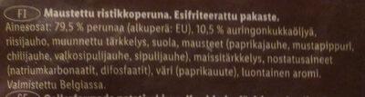 Crossies - Ingredients - fi