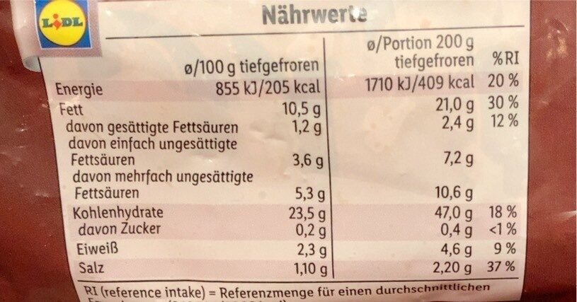 Crossies - Nutrition facts - fi
