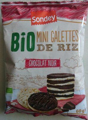 MINI GALETTES DE RIZ CHOCOLAT NOIR - Prodotto - fr