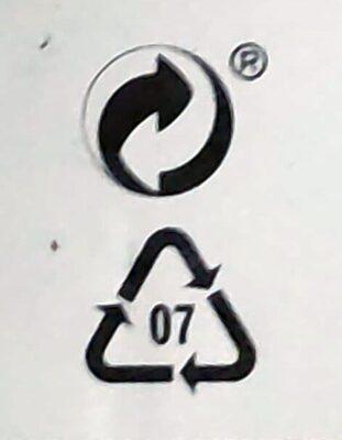 Picada vegana - Istruzioni per il riciclaggio e/o informazioni sull'imballaggio - es