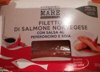 Filetto filetto di salmone norvegese - Produit - it