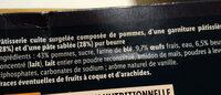Tarte à la normande - Ingrediënten - fr