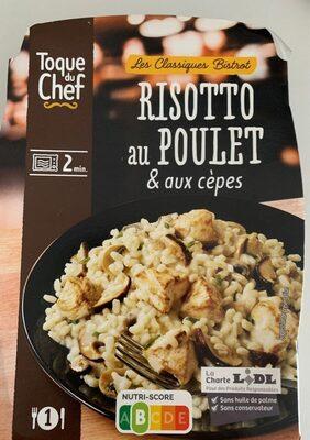 Risotto au Poulet & aux cèpes - Produit - fr