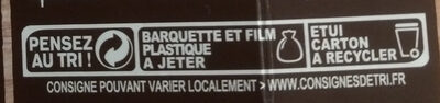 Risotto au Poulet & aux cèpes - Instruction de recyclage et/ou information d'emballage - fr