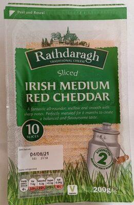 Irish Medium Red Cheddar - Product - en