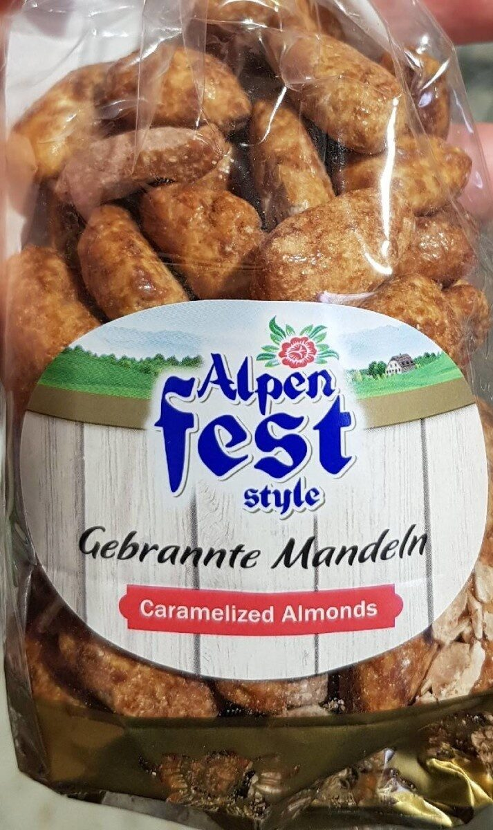 Caramelized Almonds - Product - fr