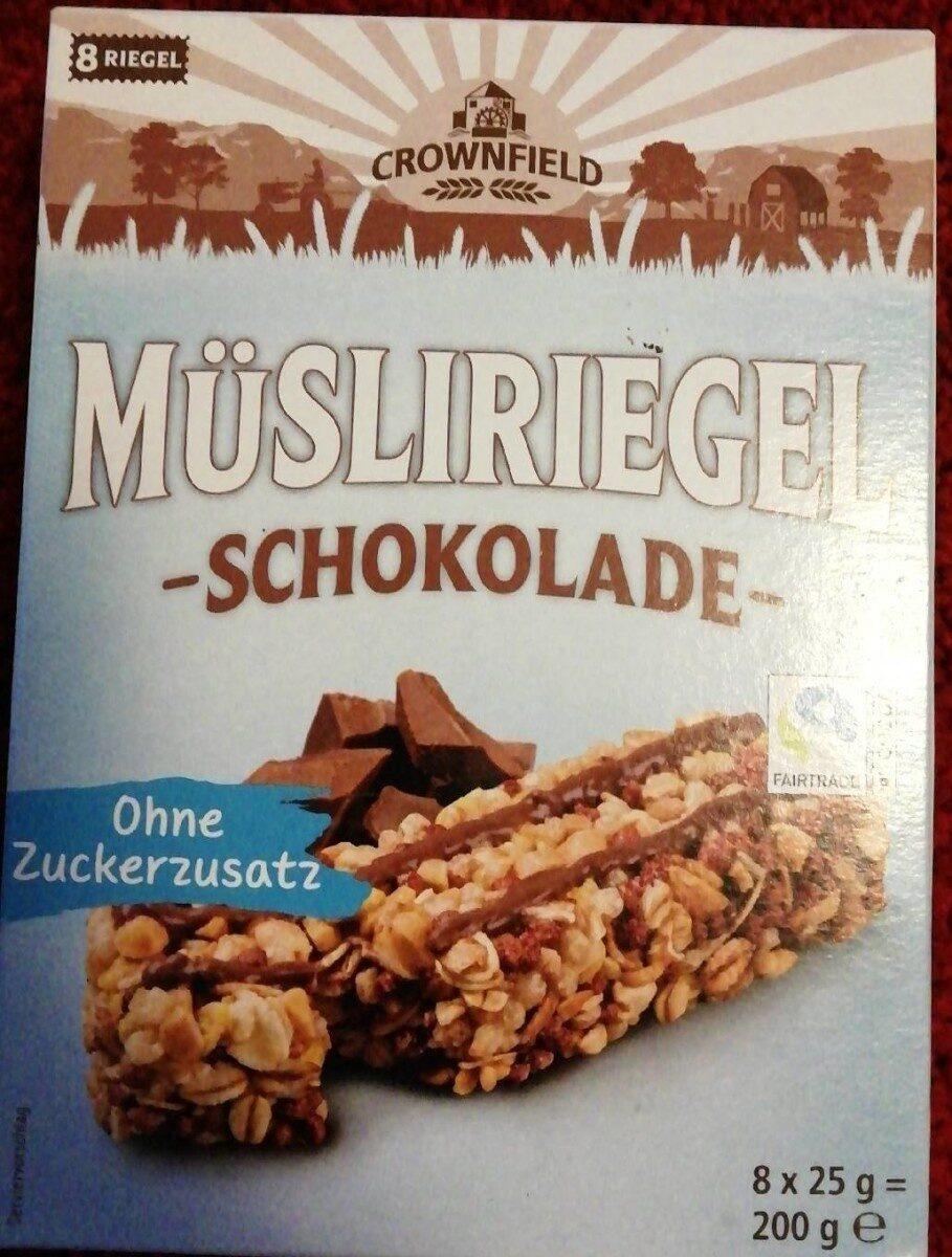Müsliriegel Schokolade - Prodotto - de