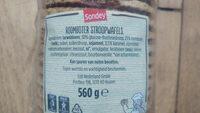 Roomboter Stroopwaffels - Ingredients - nl