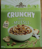 Crunchy muesli - Product - en