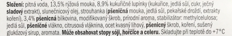"""Veganské mini řízečky """"cornflakes"""" - Ingredients - cs"""