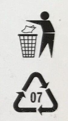 """Veganské mini řízečky """"cornflakes"""" - Recycling instructions and/or packaging information - cs"""