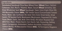 Sourdough pizza - Ingredients - en