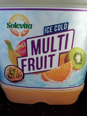 Ice cold multifruit - Product