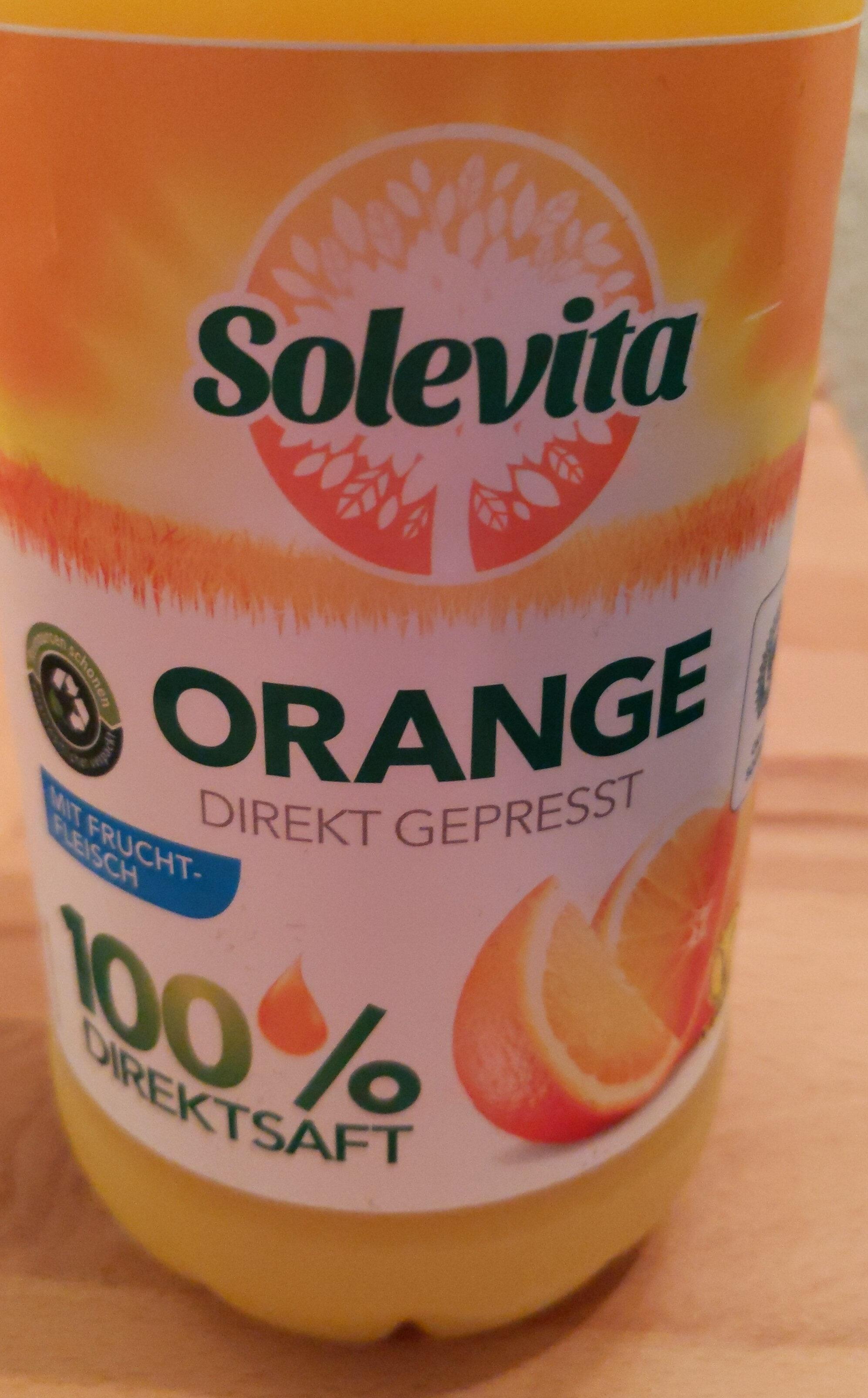 Orange direkt gepresst - Product - de