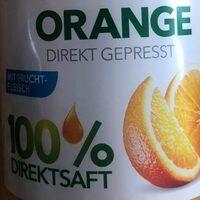 Orange direkt gepresst - Ingredients - de