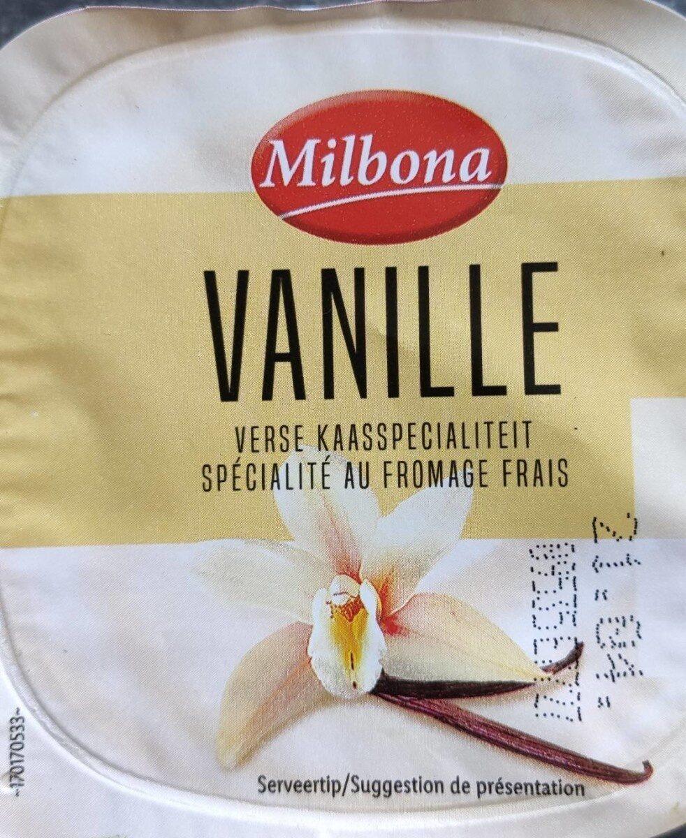 Fromage frais vanille - Produit - fr