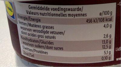 Stracciatella - Voedingswaarden - fr