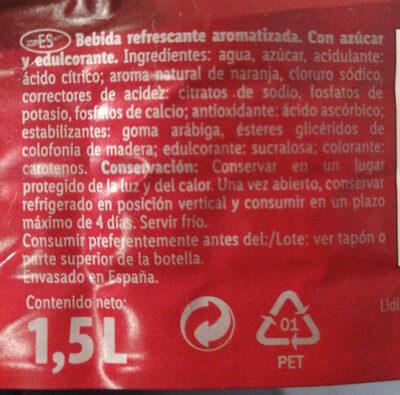 Isoclassic - Ingredientes - es