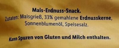 Erdnussringe - Ingredients - de