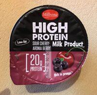High protein jogurt višně a aronie - Prodotto - cs