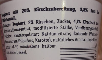 Fruchtgurt - Ingredienti - de