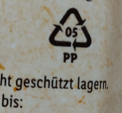 Bio Spaghetti - Recycling instructions and/or packaging information - sr