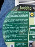 Bouddha bowl - Ingredienti - fr