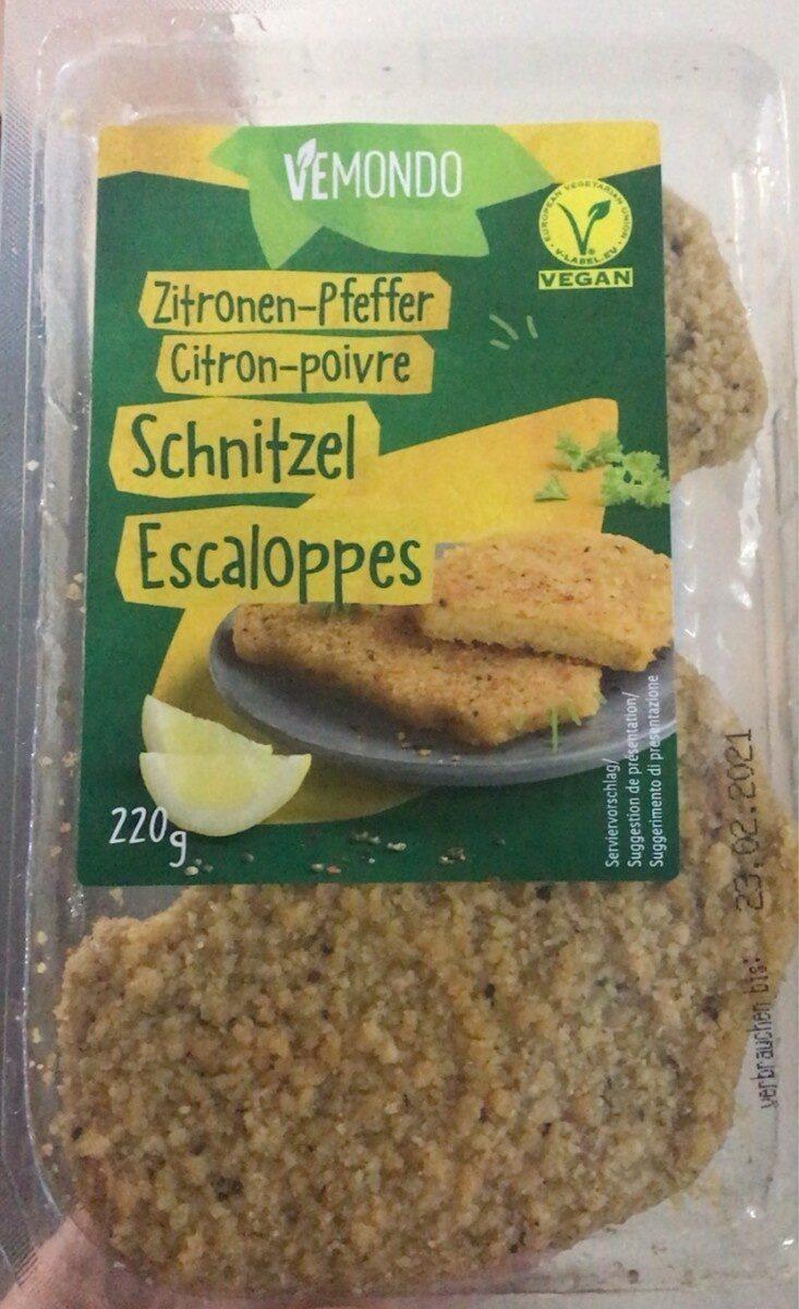 Schnitzel escaloppes - Product - fr