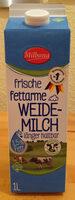 frische fettarme Weidemilch länger haltbar 1,5% Fett - Product - de