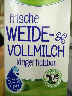 frische weide-Vollmilch - Product - en