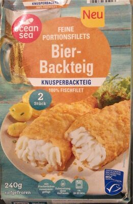 Feine Potionsfilets Bier Backteig - Produkt - de