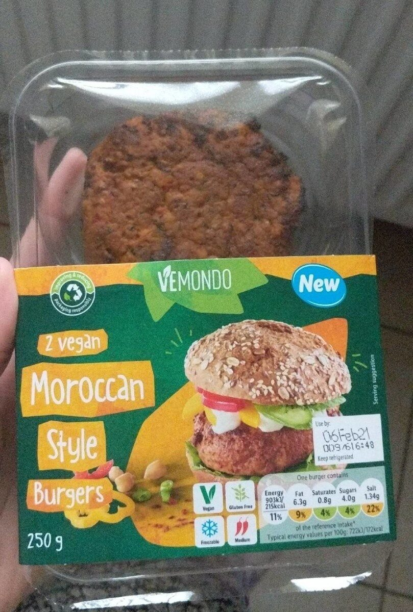 Moroccan Style Burgers - Product - en