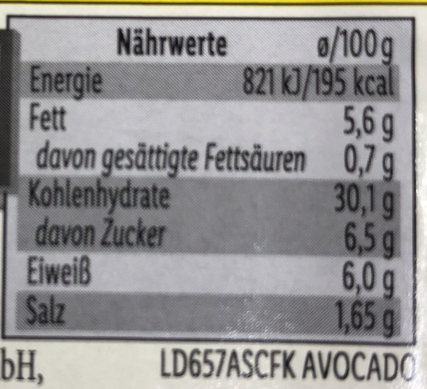 Maki mit Norwegischem Lachs - Informations nutritionnelles - de