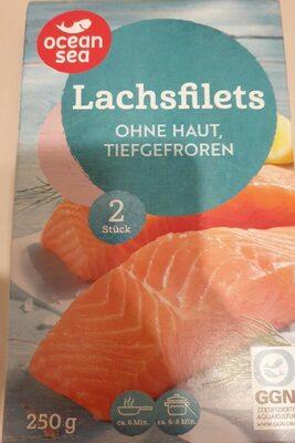 Lachsfilet ohne Haut, tiefgefroren - Produit - de
