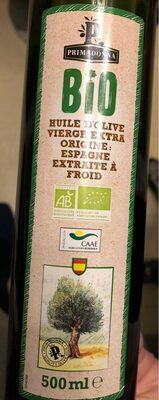 Huile d'olive vierge extra origine: Espagne extraite à froid - Product