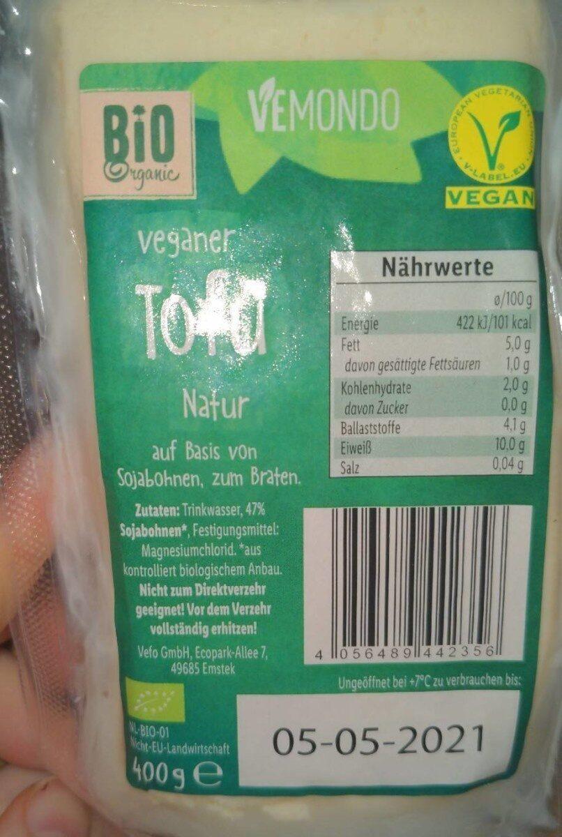 Tofu Natur - Prodotto - de